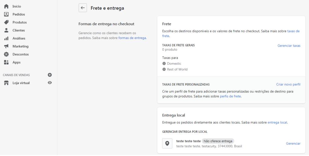 configuração-entrega-shopify