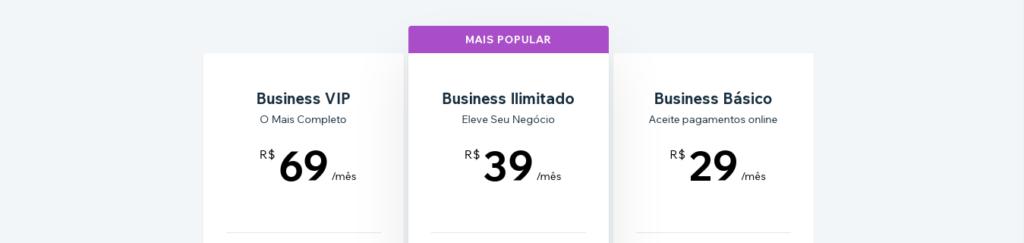 preço-loja-virtual-wix