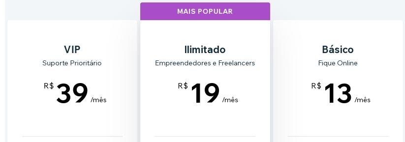 wix-planos-preços